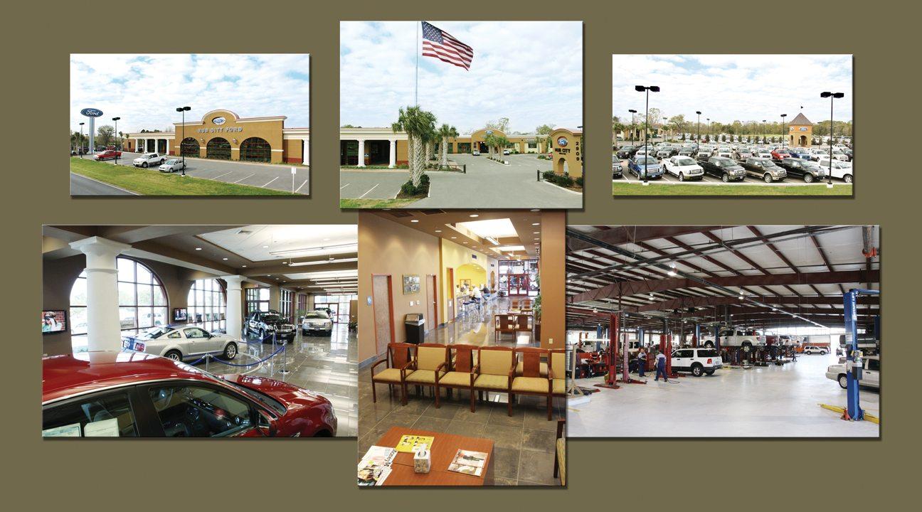 hub city ford – showroom renovations – jb mouton