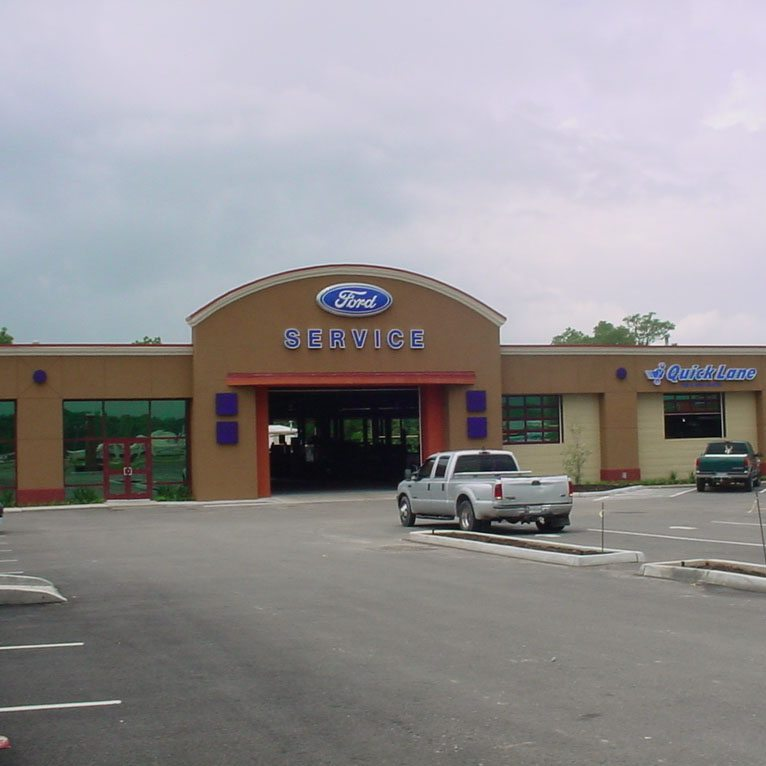 HUB CITY FORD – SHOWROOM RENOVATIONS