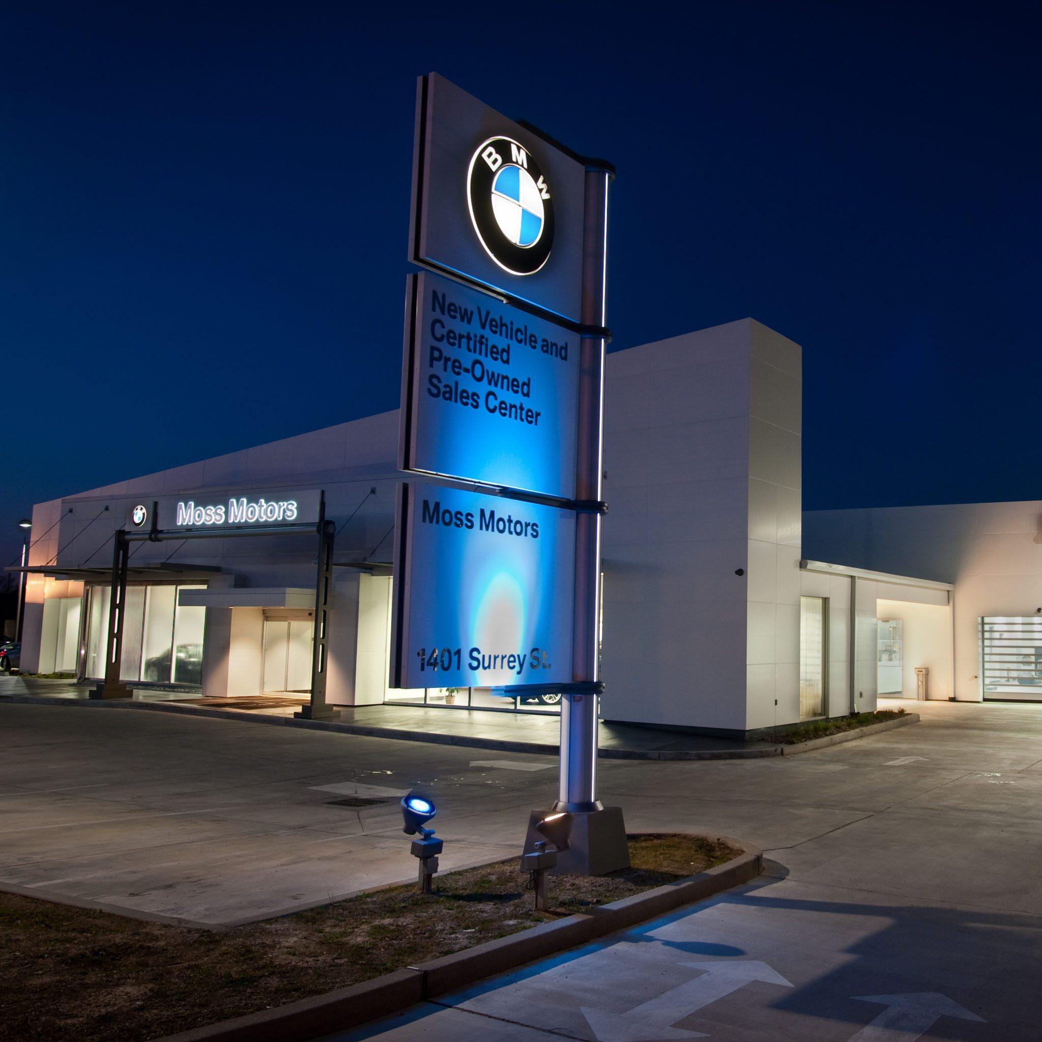 MOSS MOTORS – BMW